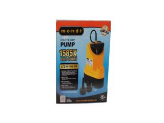 MONDI WATER PUMPS 1585 X, Hydro Shop PR Puerto Rico