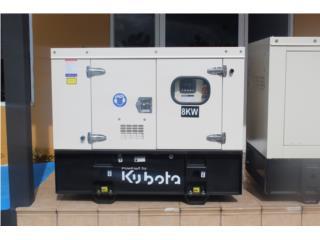 Generador Kubota 8kW, RK Power Generator Corp. Puerto Rico