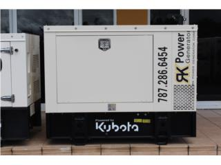 Generador Kubota 10kW, RK Power Generator Corp. Puerto Rico