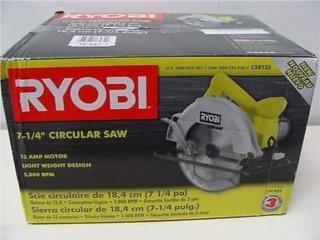 RYOBI Sierra nueva en caja CSB125, Cashex Puerto Rico