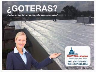SELLE SU TECHO CON MEMBRANAS DANOSA , CAPITOL Roofing Puerto Rico