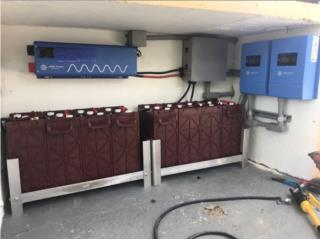 Kit Solar de alta capacidad OFF-GRID , PowerComm, Inc 7873900191 Puerto Rico