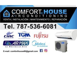 $499 12,000btu Airmax Fabricados por Gree , Comfort House Air Conditioning Puerto Rico