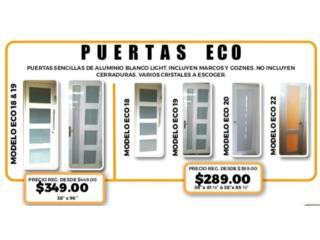 GRAN VENTA EN PUERTAS MODELOS ECO !!!, Homesolution Corp. Puerto Rico
