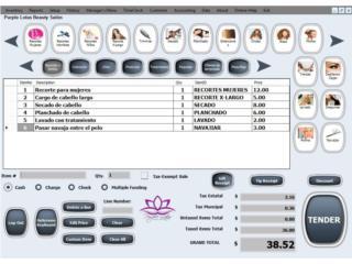 Salon/SPA/Baber POS Software PC , SmartBase Puerto Rico