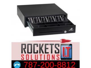 Cash drawer, Rockets I.T Solutions Puerto Rico