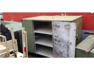 Cajon con tablillas perforadas aluminio , CONSIGNACIONES CMA Puerto Rico