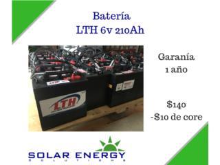 Batería LTH 6v 210Ah, Solar Energy Solutions LLC Puerto Rico