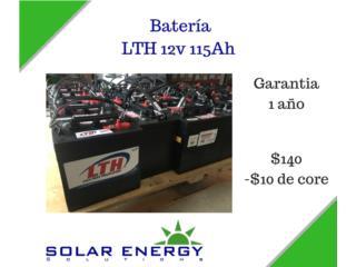Batería LTH 12v 115Ah, Solar Energy Solutions LLC Puerto Rico