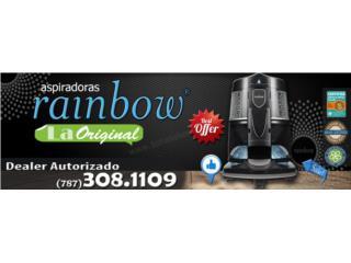 Rainbow Black Nuevas La Mejore OFERTAS, Aspiradoras Rainbow P.R Puerto Rico