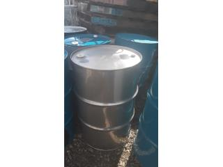 Dron stainlestel 55gls food grade, NEBRIEL ENVASES DE PUERTO RICO Puerto Rico