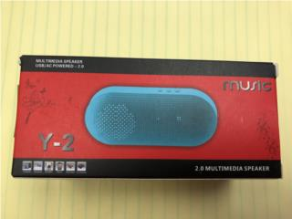 Wireless Bluetooth Speaker w/usb 2.0, WSB Supplies U Puerto Rico