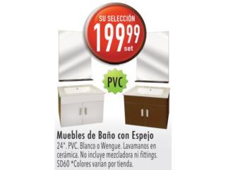 MUEBLES DE BAÑO CON ESPEJO , Ferreteria Ace Berrios Puerto Rico