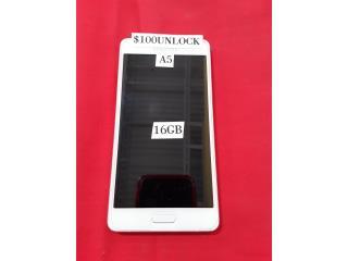 Samsung A5 Blanco, Prepaid Mobile Puerto Rico