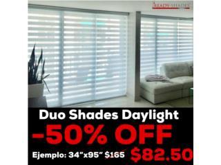 Duo Shades (illusion) a MITAD de precio, READY SHADES Puerto Rico