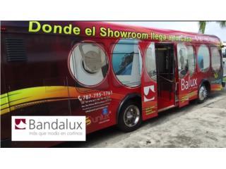 Donde El Showroom Llega a tu Casa!/Bandalux , COUNTRY VERTCALS & SHADES Puerto Rico