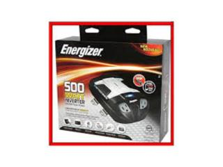 Inverter Energizer Modified Sine Power500Watt, Mf motor import Puerto Rico