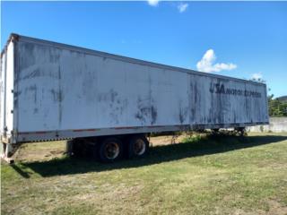 Vagon usado 53 pies de Bolsas con gom $6000, Ventas Puerto Rico