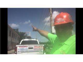 Sellador De Techo en Fiberglass, TECHOS Y MAS  INC Puerto Rico