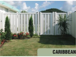 VERJAS PVC MODELO CARIBBEAN 15 % DESCUENTO, Steel and Pipes Puerto Rico