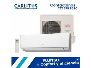Fujitsu inverter hasta 33 seer, carlitosairconditioning Puerto Rico