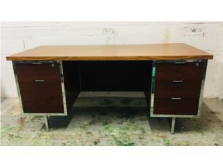 Robert John Executive Desk, Mr. Bond Vintage Puerto Rico