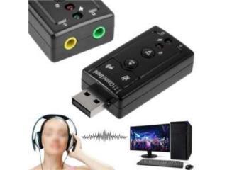 Tarjeta Sonido Externa para uso Virtual D.J., Music & Technology Puerto Rico