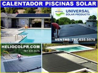 HOY-EL-AGUA-DE-SU-PISCINA-ESTA-FRIA#HELIOCOL®, OFICINA CENTRAL UNIVERSAL SOLAR #TEL 787-635-5575 Puerto Rico