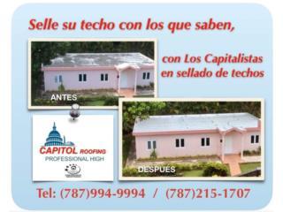 ¡NO MAS GOTERAS EN SU TECHO!, CAPITOL Roofing Puerto Rico