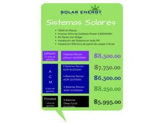 Ofertas de Sistemas Solares , Solar Energy Solutions LLC Puerto Rico