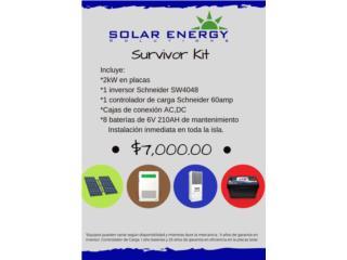 Survivor Kit  (Sistema Solar), Solar Energy Solutions LLC Puerto Rico