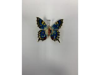 Broche de mariposa 18k, La Familia Casa de Empeño y Joyería-Ave Piñeiro Puerto Rico