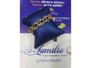 Bracelet 20.8 14k, LA FAMILIA MANATI  Puerto Rico