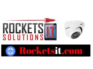 Sistema de 4 Camaras instaladas, Rockets I.T Solutions Puerto Rico