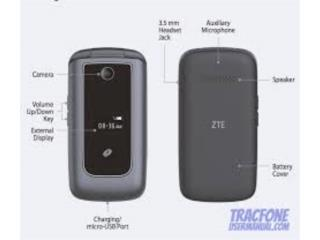 CELULAR TRACPHONE ZTE , NRCELLULAR Puerto Rico