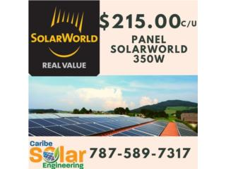 Panel SolarWorld 350W, Caribe Solar Engineering Puerto Rico