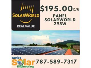 Panel SolarWorld 295W, Caribe Solar Engineering Puerto Rico