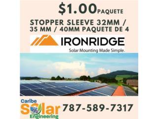 Stopper Sleeve IronRidge, Caribe Solar Engineering Puerto Rico