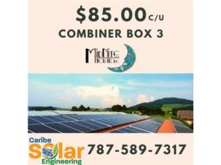 Combiner Box 3 Midnite Solar, Caribe Solar Engineering Puerto Rico