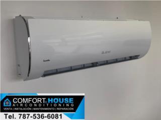 18,000btu 20seer Fabricado por Gree, Airmax, Comfort House Air Conditioning Puerto Rico