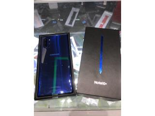 Galaxy Note 10 Plus de Claro NUEVA, iPhone Masters & More Puerto Rico