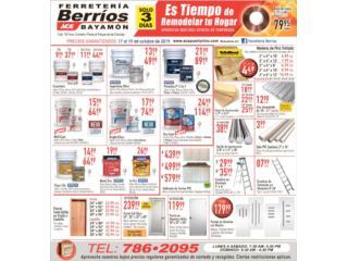 ESPECIAL DEL 17 AL 19 DE OCTUBRE , Ferreteria Ace Berrios Puerto Rico