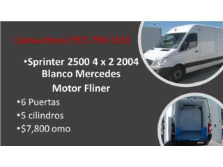 Sprinter 2500 4x3 perfecta para trabajar, Gondolas PR Puerto Rico