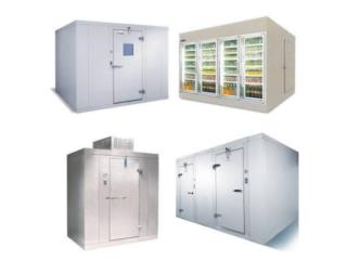 WALK IN COOLERS, FREEZERS, NUEVOS, USADOS, COMMERCIAL EQUIPMENT GROUP Puerto Rico