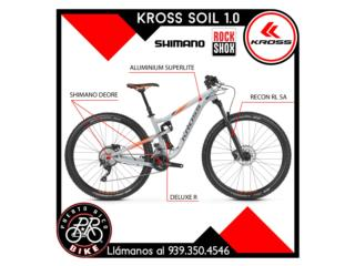 Kross Bike - Soil 1.0 TRAIL - Full Suspension, PUERTO RICO BIKE Puerto Rico