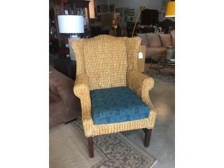 Wing Chair en Yute, The Pickup Place Puerto Rico