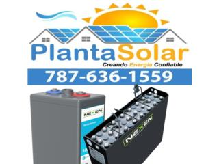 Baterias Industriales Nexen, 24/7 Planta Solar Puerto Rico