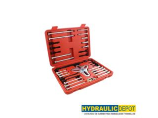 46 PC Harmonic Balancer Puller Kit, Hydraulic Depot/GMC Rentals Puerto Rico