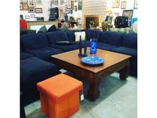 Sofa Seccional Azul, The Pickup Place Puerto Rico