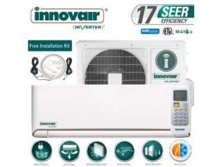 Innovair 12,000 115 voltio desde $575..00, Speedy Air Conditioning Servic Puerto Rico